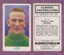 Birmingham City Harry Hibbs England 18